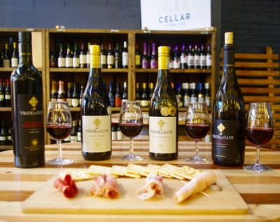 Cellar in the City wine and food pairing