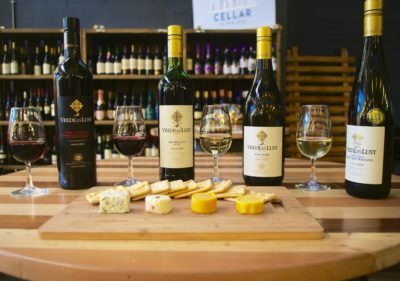Cellar in the City wine and cheese pairing