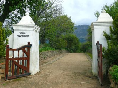Groot Constantia Cellar Tour and Museum Entrance to farm