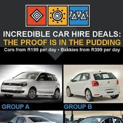 MLT Car Hire group A group B cars with prices