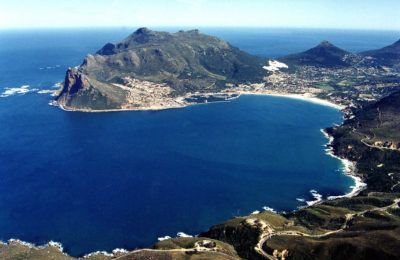 Seal Island Tours aerial vew of hout bay harbour
