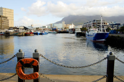 V & A Waterfront the harbour pier